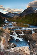 Swiftcurrent Falls, Glacier National Park.