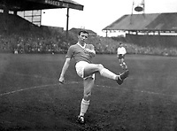Nobby Stiles MAKING HIS DEBUT for Manchester United. Bolton Wanderers v Manchester United. 1960 @ Burnden Park. Credit : Colorsport.