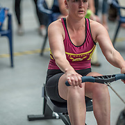 Catherine Stapleton FEMALE HEAVYWEIGHT Masters A 500mtr Race #17 01:15pm<br /> <br /> www.rowingcelebration.com Competing on Concept 2 ergometers at the 2018 NZ Indoor Rowing Championships. Avanti Drome, Cambridge,  Saturday 24 November 2018 © Copyright photo Steve McArthur / @RowingCelebration