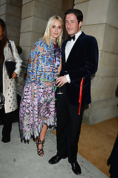 PRINCESS ELISABETH THURN & TAXIS and BLAISE PATRICK at The Animal Ball in aid of The Elephant Family held at Lancaster House, London on 9th July 2013.