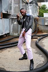 September 12, 2018 - New York, New York, United States - GoldLink attends the Oscar de la Renta Runway Show during New York Fashion Week at Pier 94 on September 11, 2018 in New York City.   attends the Coach 1941 Runway Show during New York Fashion Week at Pier 94 on September 11, 2018 in New York City. (Credit Image: © Oleg Chebotarev/NurPhoto/ZUMA Press)