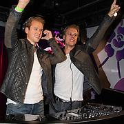 NLD/Amsterdam/20140612 - DJ Armin van Buuren onthult zijn wassen beeld bij madame Tussauds in Amsterdam<br /> <br /> NLD/Amsterdam/ 20140612 - DJ Armin van Buuren reveals his wax statue in amsterdam at Madame Tussauds