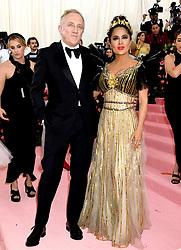 Francois-Henri Pinault and Salma Hayek attending the Metropolitan Museum of Art Costume Institute Benefit Gala 2019 in New York, USA.