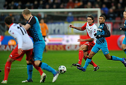 22-01-2012 VOETBAL: FC UTRECHT - PSV: UTRECHT<br /> Utrecht speelt gelijk tegen PSV 1-1 / (L-R) Dave Bulthuis, Zakaria Labyad<br /> ©2012-FotoHoogendoorn.nl