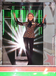 Angie Best enters the Celebrity Big Brother house at Elstree Studios in Borehamwood, Herfordshire, during the latest series of the Channel 5 reality TV programme.