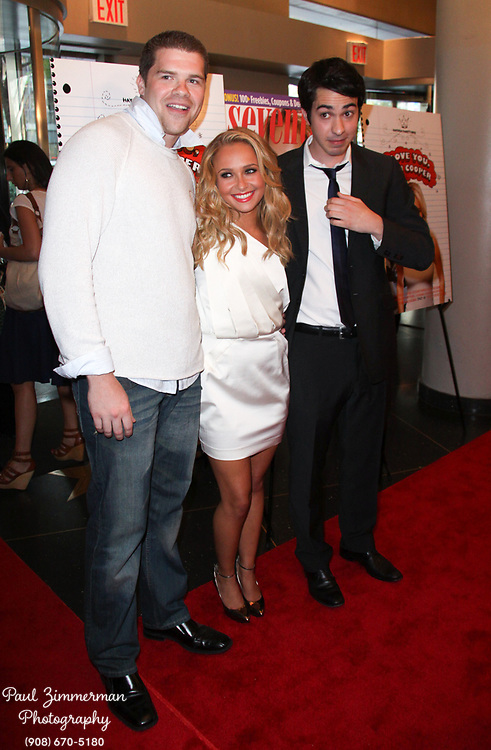 """7 June 2009 - New York, NY - Josh Emerson, Hayden Panettiere and Jack Carpenter. Seventeen Magazine and Hayden Panettiere host a screening of the new movie """"I Love You Beth Cooper"""" Photo Credit: Paul Zimmerman/AdMedia"""
