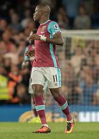Football - 2016/2017 Premier League - Chelsea V West Ham United. <br /> <br /> Enner Valencia of West Ham at Stamford Bridge.<br /> <br /> COLORSPORT/DANIEL BEARHAM