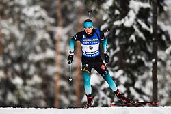 March 9, 2019 - –Stersund, Sweden - 190309 Emilien Jacquelin of France competes in the Men's 10 KM sprint during the IBU World Championships Biathlon on March 9, 2019 in Östersund..Photo: Petter Arvidson / BILDBYRÃ…N / kod PA / 92252 (Credit Image: © Petter Arvidson/Bildbyran via ZUMA Press)