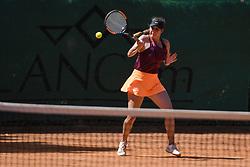 Nika Kozar during final of Drzavno prvenstvo v tenisu za clane in clanice, on June 27th, 2019 in Maribor, Slovenia. Photo by Milos Vujinovic / Sportida