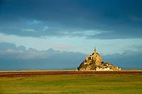 France, Manche (50), Baie du Mont-Saint-Michel, Patrimoine Mondial de l'UNESCO, le Mont-Saint-Michel // France, Manche (50), Mont-Saint-Michel bay, UNESCO world heritage, lMont-Saint-Michel