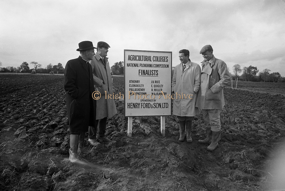 National Ploughing Championships at Tullow, Co. Carlow..26.10.1967