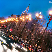 The tradition of the Plaza Lights every Christmas/Holiday Season in Kansas City on the Country Club Plaza, running for well over seven decades now