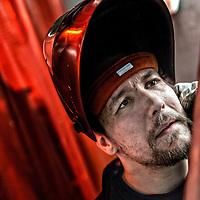 Mark Kristensen, 25 år og produktør.<br /> Mark kom videre og i job med Metal Jobstarter, hvor han tager et svejsningskursus. <br /> Når han har færdiggjort det kursus og bestået sin eksamen (kan tage alt fra tre timer til seks uger) skal han starte på sine nye arbejdsplads i Skejby.