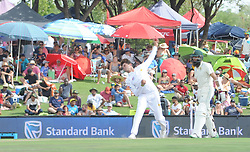 Pretoria 26-12-18. The 1st of three 5 day cricket Tests, South Africa vs Pakistan at SuperSport Park, Centurion. Day 1. Afternoon session. Pakistan bowler Shaheen Afridi during the afternoon session. <br /> Picture: Karen Sandison/African News Agency(ANA)