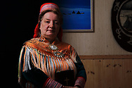 Inger Anna Gaup Gustad remembers a childhood with her family's reindeer herd on the snowy tundra in lavvus (tipis) and her gradual religious awakening.