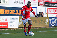 Mark Marshall of Charlton Athletic (7) during the The FA Cup match between Mansfield Town and Charlton Athletic at the One Call Stadium, Mansfield, England on 11 November 2018.