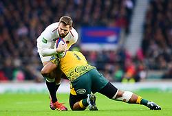 Elliot Daly of England - Mandatory by-line: Dougie Allward/JMP - 24/11/2018 - RUGBY - Twickenham Stadium - London, England - England v Australia - Quilter Internationals