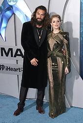 Aquaman Premiere - Los Angeles. 12 Dec 2018 Pictured: Jason Momoa, Amber Heard. Photo credit: ENT24/MEGA TheMegaAgency.com +1 888 505 6342
