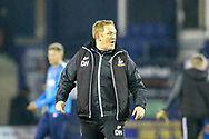 Bradford City Manager David Hopkin shouts back to the referee during the EFL Sky Bet League 1 match between Luton Town and Bradford City at Kenilworth Road, Luton, England on 27 November 2018.