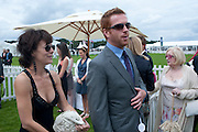 Helen McCrory; Damien Lewis;, Cartier International Polo Day at the Guards Polo Club. Windsor. July 26  2009