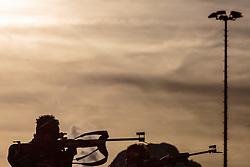 12.12.2015, Biathlonarena, Hochfilzen, AUT, BMW IBU Weltcup, Verfolgung, Herren, im Bild Jean Guillaume Beatrix (FRA) // Jean Guillaume Beatrix of France during Mens Pursuit of BMW IBU Biathlon World Cup at the Biathlonstadium in Hochfilzen, Austria on 2015/12/12. EXPA Pictures © 2015, PhotoCredit: EXPA/ JFK