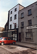 Old amateur photos of Dublin streets churches, cars, lanes, roads, shops schools, hospitals, Streetscape views are hard to come by while the quality is not always the best in this collection they do capture Dublin streets not often available and have seen a lot of change since photos were taken Green St Courts, Culhane's Pub Green St, Bolton St, Children's Hospital Harcourt St, Railway Station, AD-MDCCCLIX 1859, Old Church SCR Adelaide Rd, March 1987