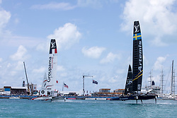 Second day of the 35th America's Cup. 28th of May, 2017, Bermuda