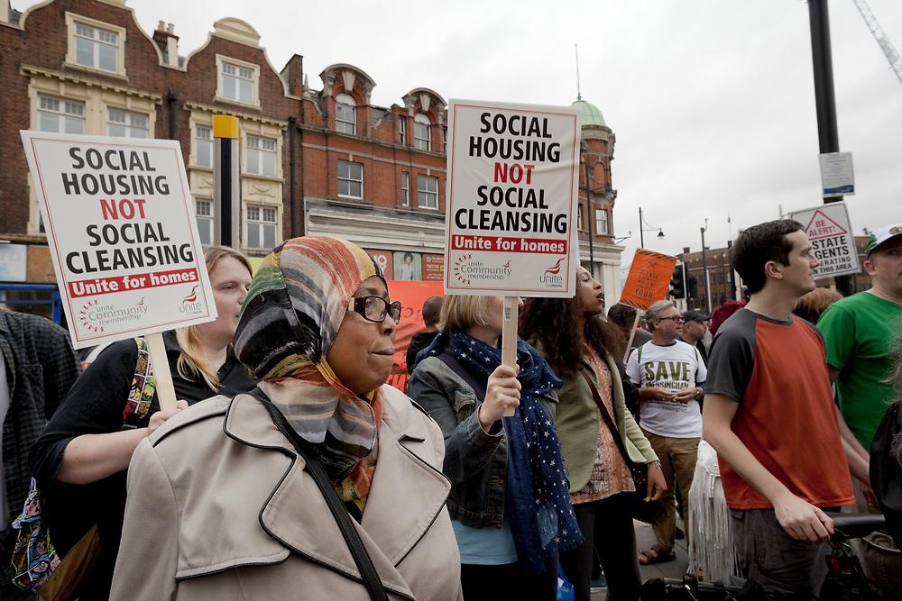 Save Cressingham Gardens Protest 2016