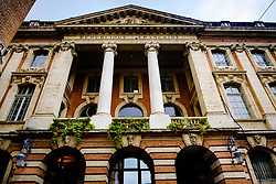 Rear facade of the Mairie de Toulouse Town Hall, Toulouse, France<br /> <br /> (c) Andrew Wilson | Edinburgh Elite media