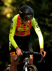 Sophie Wright of Ale BTC Ljubljana during the Stage Three Individual Time Trial of the AJ Bell Women's Tour in Atherstone, UK. Picture date: Wednesday October 6, 2021.