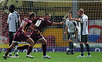 Photo: Paul Thomas.<br /> Bradford v Bristol City. Coca Cola League 1. 08/08/2006.<br /> <br /> Dean Windass (10) of Bradford scores.