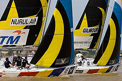 2008 Monsoon Cup. First round robins. Nurulan and Gilmour (Wednesday 3rd December 2008). .