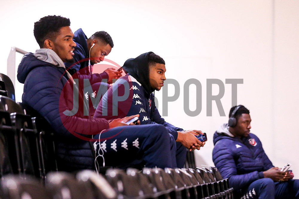 Bristol Flyers arrive at the Eagles Community Arena, for the BBL fixture against Newcastle Eagles - Photo mandatory by-line: Robbie Stephenson/JMP - 01/03/2019 - BASKETBALL - Eagles Community Arena - Newcastle upon Tyne, England - Newcastle Eagles v Bristol Flyers - British Basketball League Championship