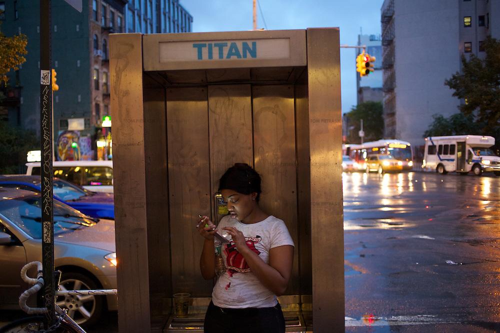 New York City.<br /> <br /> Photo: Tom Pietrasik<br /> New York City, USA <br /> October 2014