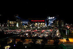 A general view from outside of Lincoln Financial Field after Philadelphia Eagles NFL Flight Night at Lincoln Financial Field in Philadelphia, Pennsylvania on Sunday August 2nd 2009. (Photo by Brian Garfinkel)
