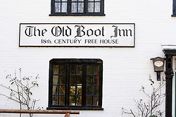 The Old Boot Inn at the village of Stanford Dingley, West Berkshire
