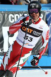 Kilian Albrecht at 9th men's slalom race of Audi FIS Ski World Cup, Pokal Vitranc,  in Podkoren, Kranjska Gora, Slovenia, on March 1, 2009. (Photo by Vid Ponikvar / Sportida)