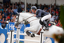Maarse Dave (NED) - Bravo Liefhebber<br /> 7 jarige Springpaarden<br /> KWPN Paardendagen Ermelo 2013<br /> © Dirk Caremans