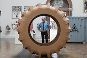 Reinventing the Wheel by William Alexander - The Royal Academy of Arts' 248th Summer Exhibition is coordinated by the renowned British sculptor and Royal Academician Richard Wilson (pictured).