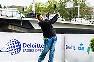 16-06-2015 Foto's van de Kick-Off van het Deloitte Ladies Open 2015 in Amsterdam.