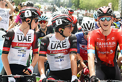 Tadej Pogacar, Jan Polanc and Matej Mohoric during Slovenian National Road Cycling Championships 2021, on June 20, 2021 in Koper / Capodistria, Slovenia. Photo by Vid Ponikvar / Sportida