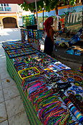 Huichol Indian, bead art work, San Pancho, San Francisco, Riviera Nayarit, Nayarit, Mexico