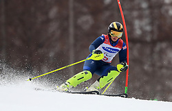 Great Britain's Millie Knight in the Women's Slalom, Visually Impaired at the Jeongseon Alpine Centre during day nine of the PyeongChang 2018 Winter Paralympics in South Korea.