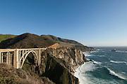 Bixby Bridge on Highway 1, Big Sur, California, USA