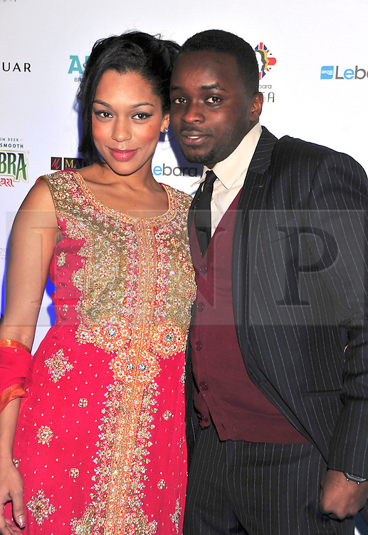 © under license to London News Pictures. 04/03/11. Portia and Femi Oyeniran Lebara British Asian Sports Awards , Saturday 5th March 2011 at the Grosvenor House Hotel, Park Lane, London. Photo credit should read alanroxborough/LNP
