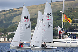 Peelport Clydeport Largs Regatta Week 2013 <br /> <br /> RS 200, 1254, Fiona Rigg and Vicki Simpson<br /> <br /> Largs Sailing Club, Largs Yacht Haven, Scottish Sailing Institute