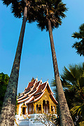 Luang Prabang, Mekong River, Laos In the late 1800s, French colonial powers and the Lao aristocracy of Vientiane developed a new architectural fusion in Luang Prabang, inspired by local temples and materials, and French and Indochine architecture. The French brought in skilled Vietnamese builders to build two-storey villas throughout the town.