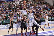 DESCRIZIONE : Trofeo Meridiana Dinamo Banco di Sardegna Sassari - Olimpiacos Piraeus Pireo<br /> GIOCATORE : David Logan<br /> CATEGORIA : Tiro Penetrazione Sottomano<br /> SQUADRA : Dinamo Banco di Sardegna Sassari<br /> EVENTO : Trofeo Meridiana <br /> GARA : Dinamo Banco di Sardegna Sassari - Olimpiacos Piraeus Pireo Trofeo Meridiana<br /> DATA : 16/09/2015<br /> SPORT : Pallacanestro <br /> AUTORE : Agenzia Ciamillo-Castoria/L.Canu