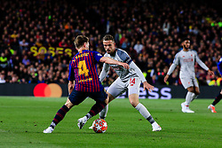 May 1, 2019 - Barcelona, BARCELONA, Spain - 04 Ivan Rakitic of FC Barcelona during the UEFA Champions League first leg match of Semi final between FC Barcelona and Liverpool FC in Camp Nou Stadium in Barcelona 01 of May of 2019, Spain. (Credit Image: © AFP7 via ZUMA Wire)