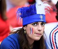 Tifosa Francia Supporters France<br /> Marseille 15-06-2016 Stade du Velodrome <br /> Football Euro2016 France - Albania / Francia - Albania Group Stage Group A<br /> Foto Massimo Insabato / Insidefoto